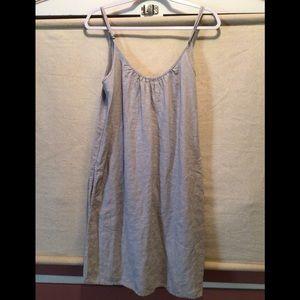 EUC Fresh Laundry 100% Linen Spaghetti Strap Dress
